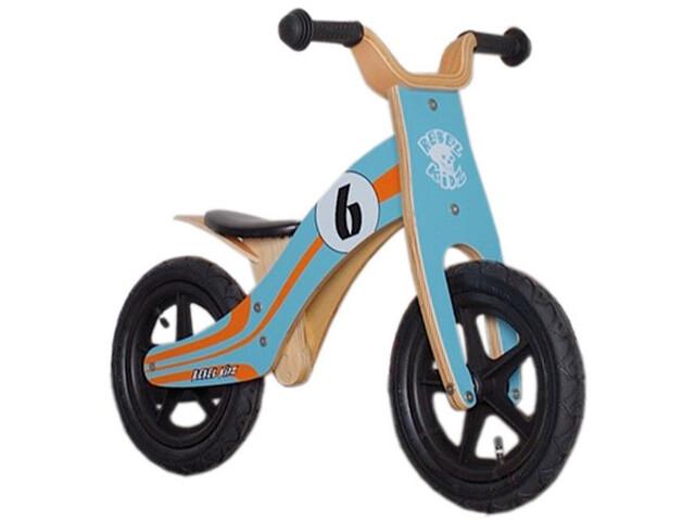 """Rebel Kidz Wood Air Løbecykel 12"""" Børn, le mans/blue/orange"""